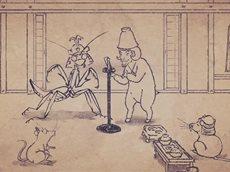 [AOS] Карикатуры дикой природы Сэнгоку эпизод #15 русская озвучка HQ